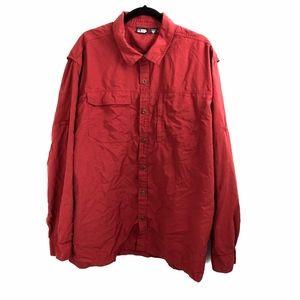 EMS Lightweight Shirt XXL Dark Red